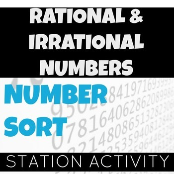 Rational and Irrational Numbers Sort Activity (Interactive