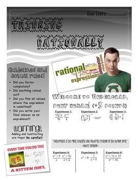 Rationals Newsletter Activity