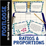 Ratios and Proportions Task Cards - Footloose and Problem Solving