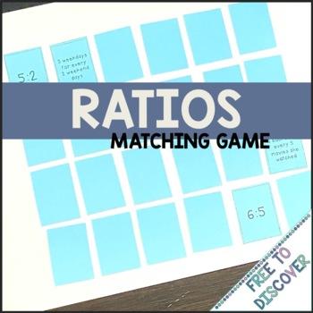 Ratios Matching Game