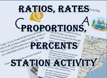 Ratios Rates Proportions Percent Real Life Application Sta