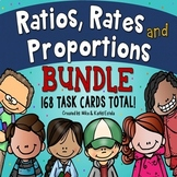 Ratios, Rates, and Proportions Task Cards BUNDLE