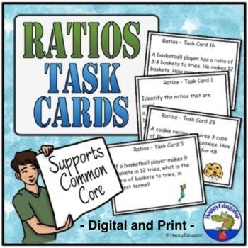 Ratios - Task Cards