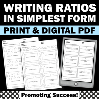 ratios worksheets