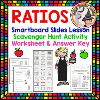 Ratios and Ratio Predictions Smartboard Lesson