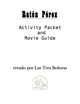Raton Perez Activity Packet and Movie Guide
