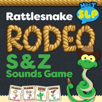 """Rattlesnake Roundup """"S"""" and """"Z"""" Sounds Game"""