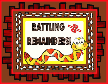 Rattling Remainders- Game and Independent Practice