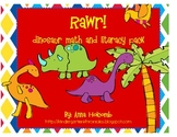 Rawr!!! A Dinosaur Math and Literacy Pack