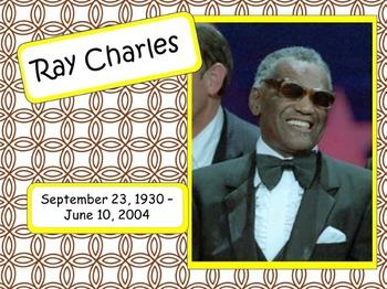 Ray Charles: Musician in the Spotlight