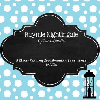Raymie Nightingale (Kate DiCamillo) Close Reading Activiti