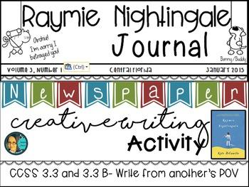 Raymie Nightingale by Kate DiCamillo ~ Creative Writing Newspaper