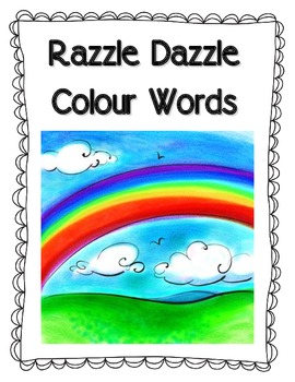 Razzle Dazzle Colour Words Book