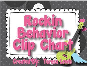 Rockin' Behavior Clip Chart