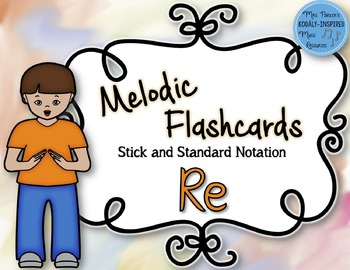Re Melodic Flashcards (do-re-mi-so-la)