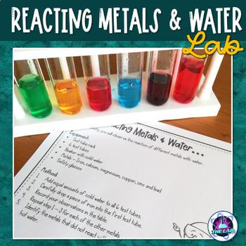 Reacting metals and acid