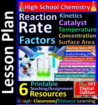 Reaction Rate; Catalysts, Activation Energy - Worksheets &