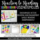 Reaction to Reading Using Emoji Sticky Notes {Interaction With Text}