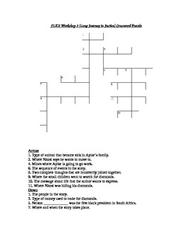 Read 180 FLEX Workshop 3 (Long Journey to Justice) Crossword