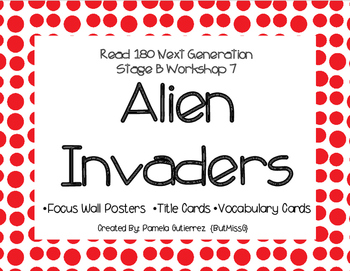 Read 180 Next Generation Stage B Workshop 7 Alien Invaders