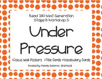 Read 180 Next Generation Stage B Workshop 5 Under Pressure