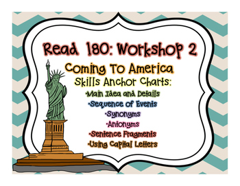 Read 180 Workshop 2: Anchor Posters