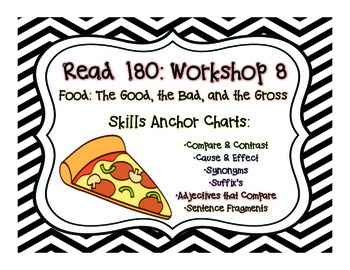 Read 180 Workshop 8: Anchor Posters