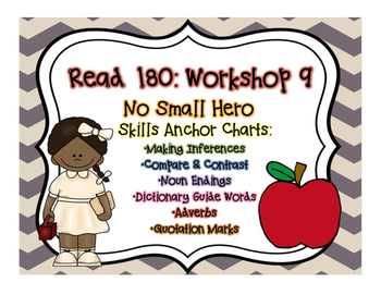 Read 180 Workshop 9: Anchor Posters