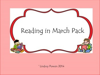 Reading in March Celebration Pack