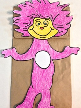 Read Across America Character Puppet 2