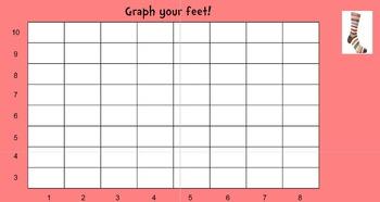 Read Across America Foot Graph