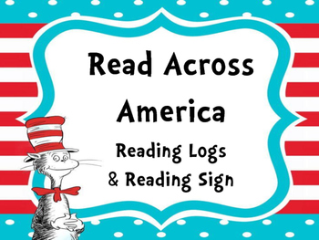 Read Across America Reading Logs