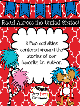 Read Across the United States Ready to Print Pages