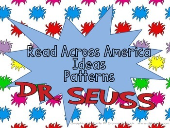 Read Across America Seuss Inspired Math