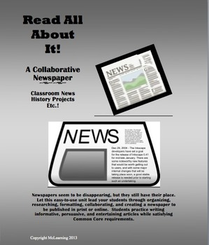 Read All About It!  A Collaborative Newspaper
