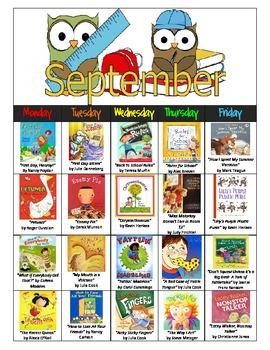 Read Aloud-A-Day Calendar Lesson Plan