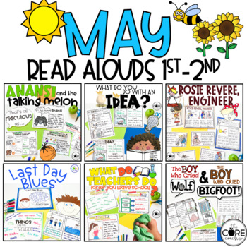 Read-Aloud Activities: May Bundle for Grades 1-2