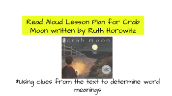 Using context clues to determine word meaning with the tex