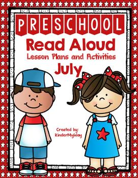 Read Aloud Lesson Plans for July - Preschool