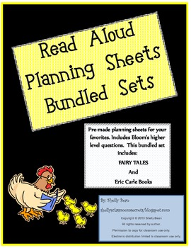 Read Aloud Plan Bundle, Fairly Tales and Eric Carle includ