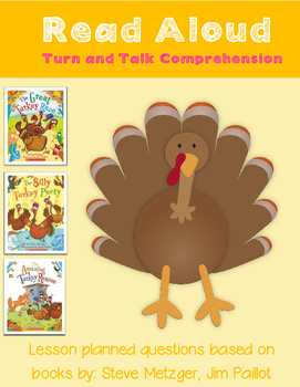 Read Aloud Turn and Talk Comprehension - Thanksgiving - Tu