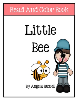 Read And Color Book ~ Little Bee