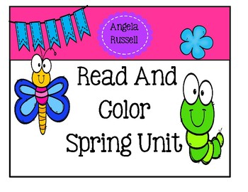 Read And Color ~ Spring Unit