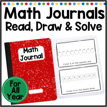 Read Draw and Solve: Math Journal Prompts for All Year