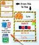 Read It, Build It, Write It Holiday & Seasonal Work Mats -