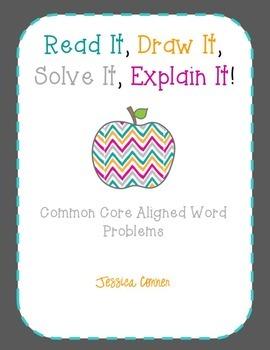 Read It, Draw It, Solve It, Explain It!