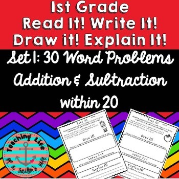 Read It! Draw It! Solve It! Explain It! - 30 Primary Daily