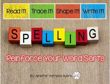 Words Their Way Word Sorts Set 1