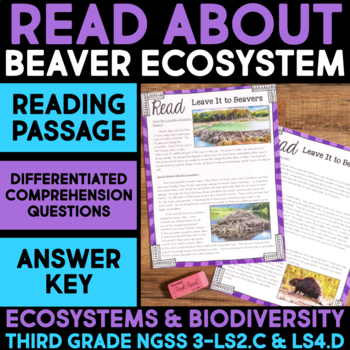 Read About Beaver Homes - Ecosystems and Biodiversity Scie