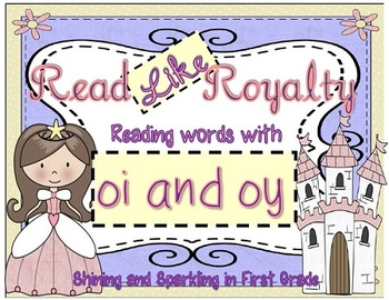 Read Like Royalty {Oi and Oy Literacy Center}